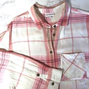 Shyanne Flannel Button Down Shirt